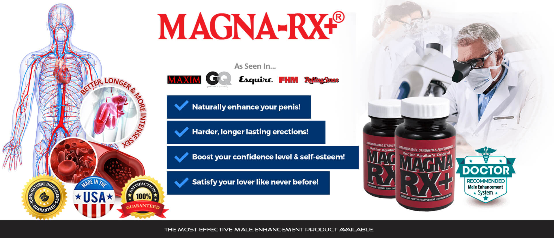 Features List Male Enhancement Pills  Magna RX