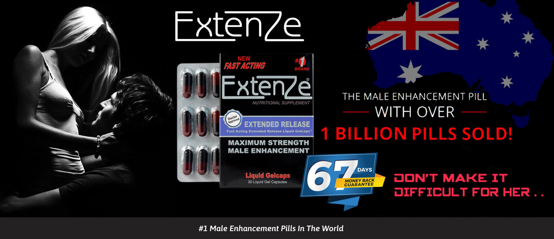 Extenze Male Enhancement Pills price fall